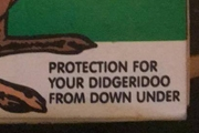 Kangaroo Flavored Condoms